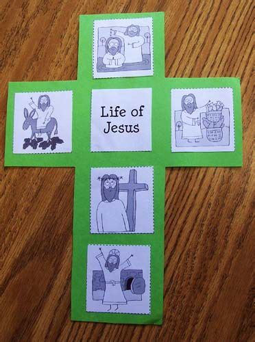 jesus crafts for easter of jesus cross preschool activities easter