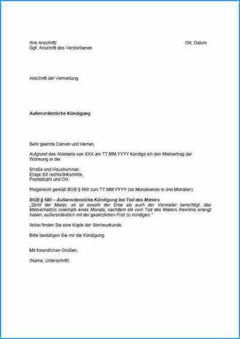 Wie Kann Ich Eine Wohnung Finden by 9 K 252 Ndigung Schreiben Muster Rechnungsvorlage