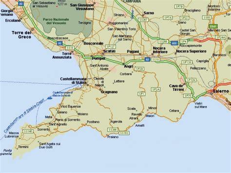 map of amalfi coast amalfi coast map pdf images