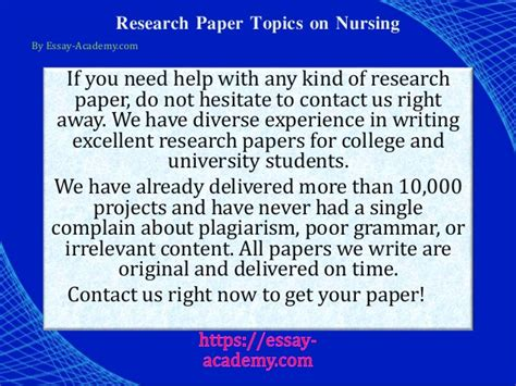 topics for nursing research papers nursing topics for research paper 28 images college