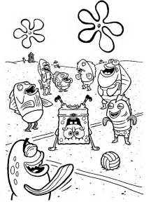 spongebob coloring book spongebob characters coloring pages coloring home