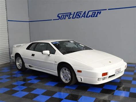 sell used 1990 lotus esprit se in sacramento california united states