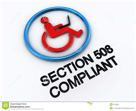 accessibility section 508 section 508 accessibility stock photography image 9759202