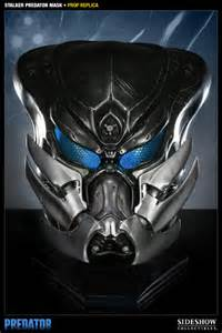 predator stalker predator mask prop replica by sideshow