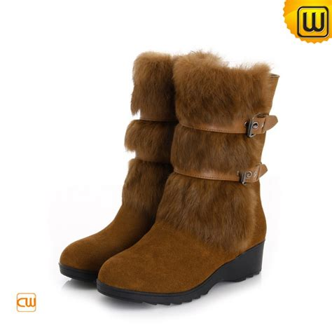 brown winter snow boots cw332101