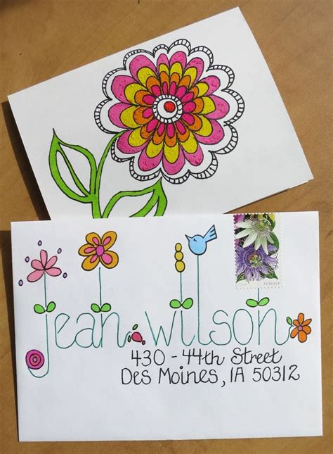 Envelope Decoration Ideas by 25 Best Ideas About Decorated Envelopes On