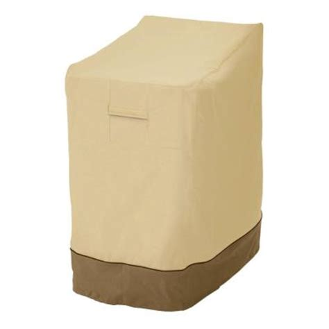 Stacking Patio Chair Covers Classic Accessories Veranda Stackable Patio Chair Cover 78972 The Home Depot