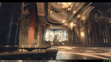 throne room  temple  utu martinh minos polycount