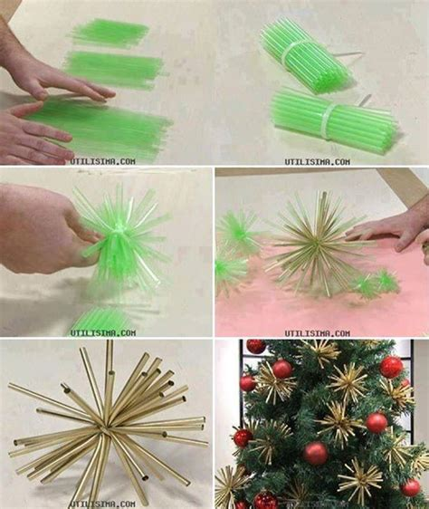 creative ideas diy woven paper snowflake ornaments