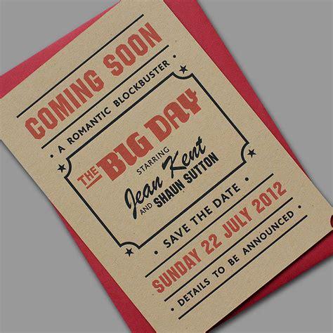Wedding Invitation Yield by Popcorn Letterpress Wedding Stationery By Yield Ink
