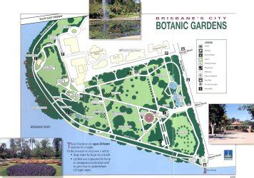 Redevelopment City Botanic Gardens Brisbane Botanic Brisbane Botanic Gardens Map