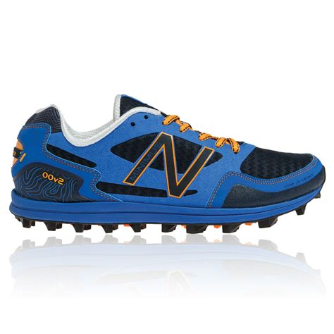 new balance sport shoe new balance minimus mt00v2 mens blue running trail sports