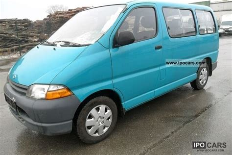 2000 toyota hiace 9 seater top condition car photo and specs