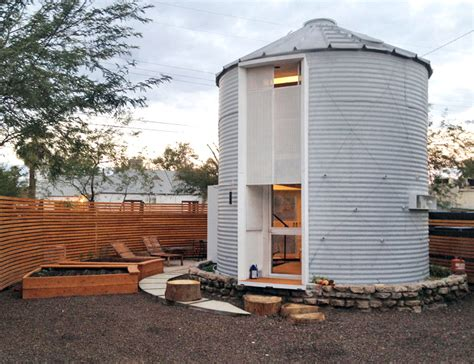 mid century grain silo transformed into a gorgeous