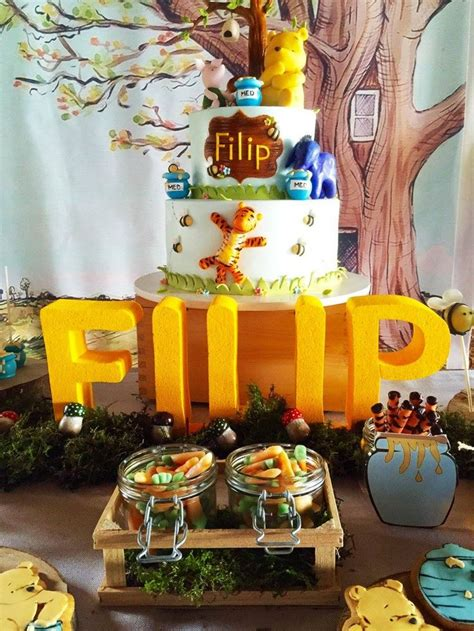 water themed birthday party honeybear 10 best classic winnie the pooh party images on pinterest
