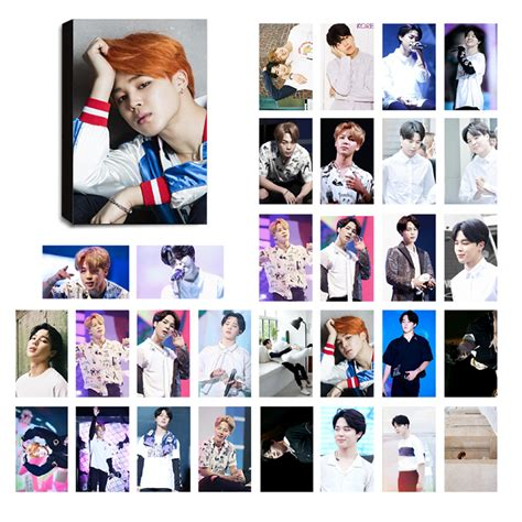 Photocard Bts by Bts Jimin Ver 2 Lomo Photocard Set Kpop Mall Usa