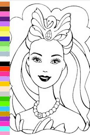 barbie girl coloring pages games lava girl coloring pages freecoloring4u com