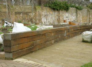 Wooden Sleepers Garden Edging by Picture Gallery Of Raised Beds Gardenfocused Co Uk