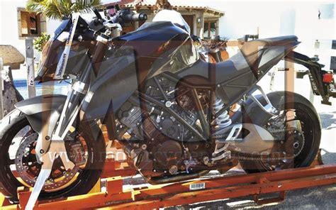 Ktm Duke 1300 New Ktm Duke 1290 Spied