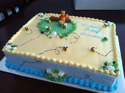 Pooh Baby Shower Cakes by Winnie The Pooh Baby Shower Cake Cakecentral