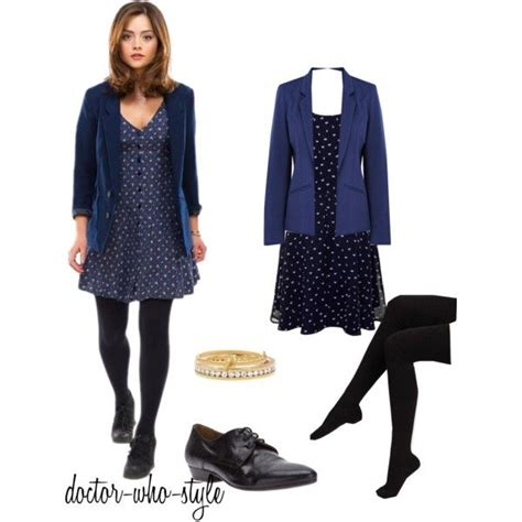 Clara Maxy By Nd Fashion quot clara oswald quot by doctor who style polyvore fandom