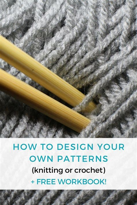 crochet parfait making your own crochet or knitting charts how to design your own patterns free workbook