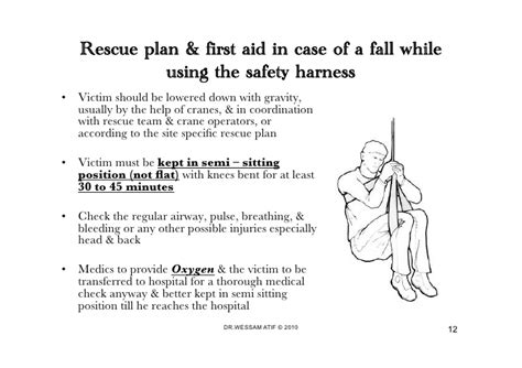 fall protection plan template preparedness of disaster emergency rescue plan for