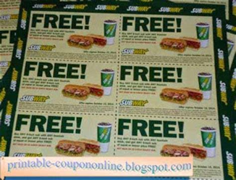 printable subway coupons december 2017 printable coupons 2017 subway coupons