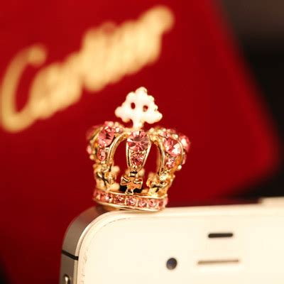 Decorated Crown Shape Design T56bd5 personalized pink decorated crown shape design asujewelry