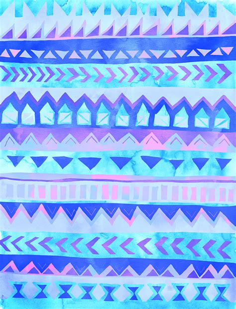 tribal pattern pastel wallpaper tribal ethnic patterns on behance