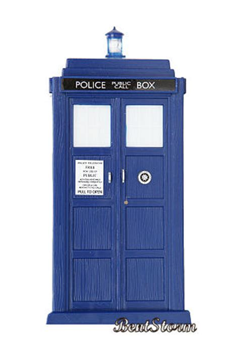 doctor dr who tardis police call box night light phone