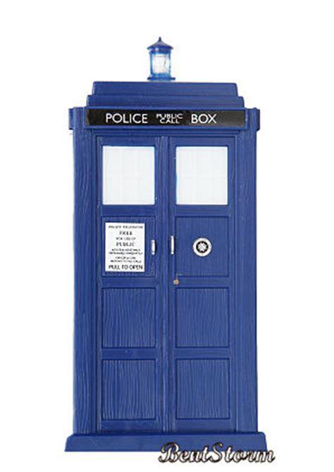 doctor dr who tardis police call box night light phone