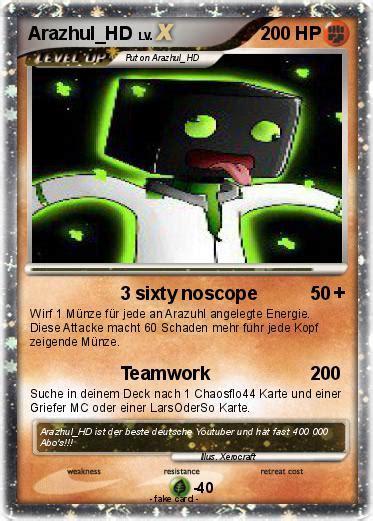 pok 233 mon arazhul hd 3 3 3 sixty noscope my pokemon card