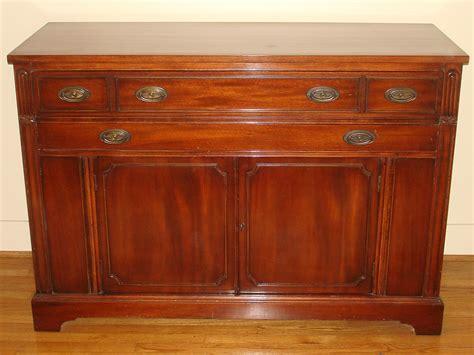 duncan phyfe dining room set buffet drawers doors shelf