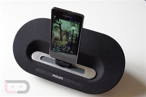 android dock accessory review philips fidelio as351 speaker dock for android devices droid