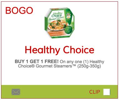 healthy food printable coupons smartsource ca canada healthy choice coupons buy 1 get 1