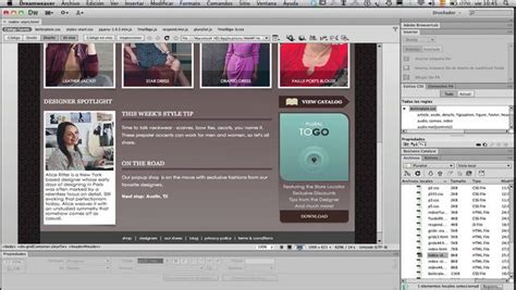 tutorial dreamweaver cs6 español pdf descargar adobe dreamweaver cs6 espa 241 ol portable