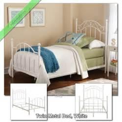 girls bed frame twin metal bed frame for girls boys kids dorm bedroom