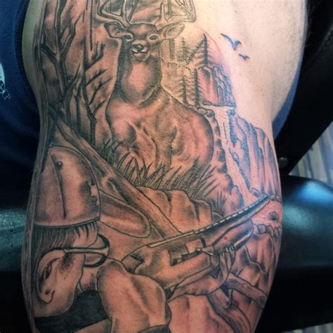 89 best hunting tattoos of all time good game hunting