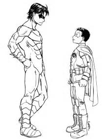 nightwing coloring pages nightwing dc coloring pages coloring pages