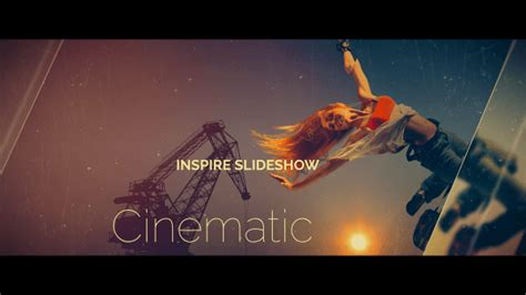 Cinematic Slideshow Abstract After Effects Templates F5 Design Com Cinematic After Effects Template