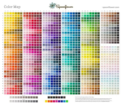 color map spoonflower