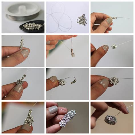 how to make jewelry rings diy silver bead ring style inked