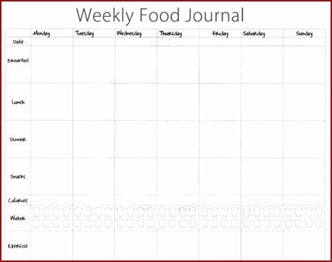 free printable food diary uk 7 food journal templatesjnxjg templatezet