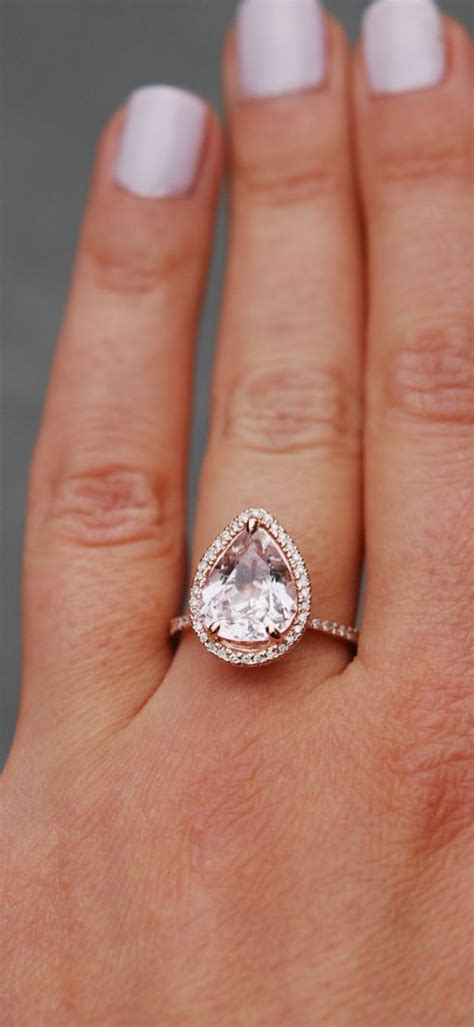 25 best ideas about pear engagement rings on