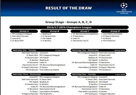 Calendrier Ligue Des Chions Phase Finale T 233 L 233 Charger Calendrier Officiel Ligue Des Chions 2016