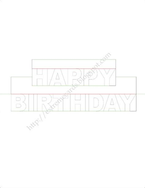 birthday 3d card template best 25 pop up card templates ideas on pop up