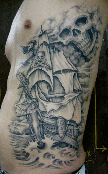 pirate ship tattoo designs youth tattoos pirate pictures design ideas for