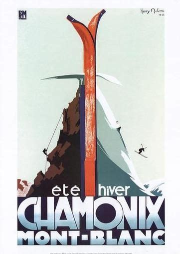 Mont Blanc 663 1 20 best vintage ski posters images on posters