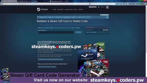Steam Gift Card Redeem - steam gift card code hack steam wallet hack 2017 working